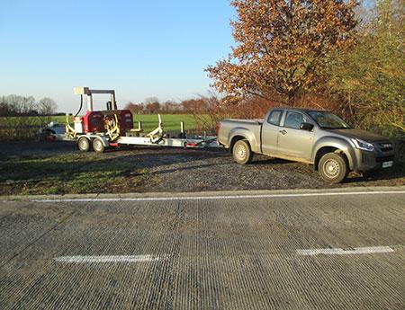 Scierie mobile près de Maubeuge et Valenciennes